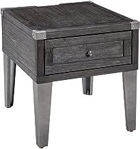 Signature Design by Ashley Todoe Rectangular End Table Dark Gray