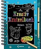 Kreativ-Kratzelbuch: Katzen