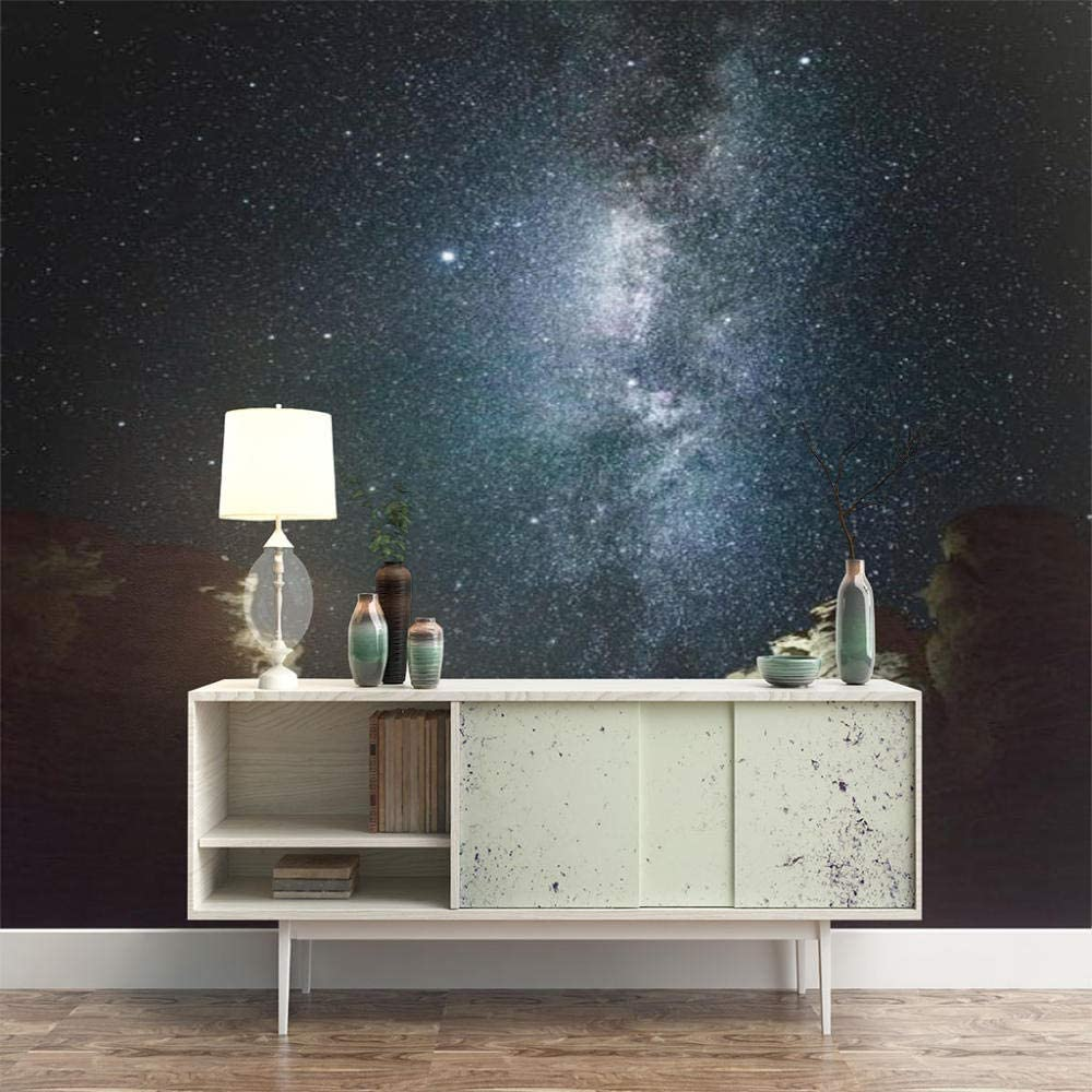 ZXDHNS discount Wall latest Murals XXL - Starry Beautiful Self-Adhes Scene Night