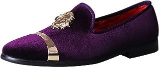 Men's Luxury Wedding Party Dance Prom Loafers Velvet Shoes 11 Color