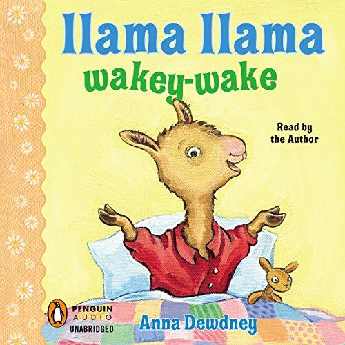 Llama Llama Wakey-Wake audiobook cover art