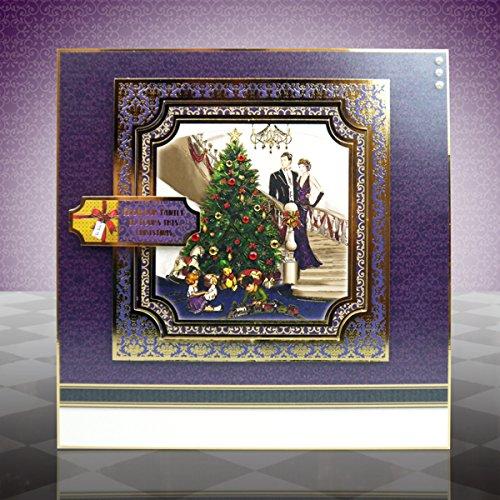 Hunkydory Festive Deco - A Family Christmas - Topper Set Card Kit