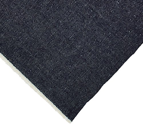 Richlin Fabrics WD-0012 Wide 100-Percent Cotton Denim Fabric, 60-Inch, Indigo