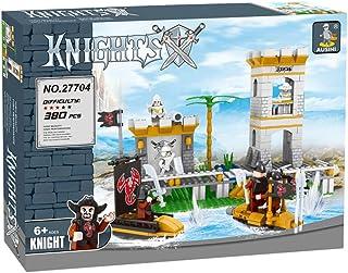 ausini 27704 Knights Fortress Shaped Building Blocks - 380 Pieces