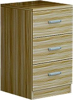 LQ Armoire de bureau Armoire de rangement au sol Armoire de stockage for armoire basse mobile dossier (Color : Light walnut)