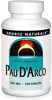 Source Naturals Pau D'Arco Dietary Supplement - 100 Tablets
