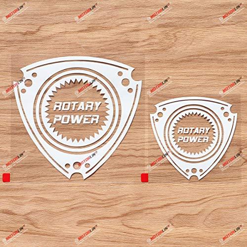 Rotary Engine Power Wankel Decal Sticker Car Vinyl...