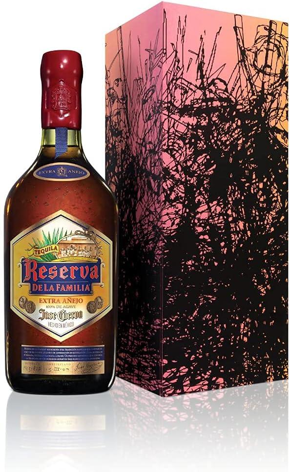 65 opinioni per Jose Cuervo Reserva de la Familia Extra Anejo – Tequila premium invecchiato 30