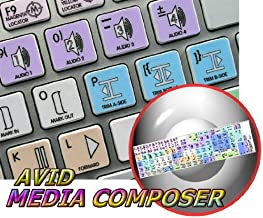 AVID MEDIA COMPOSER GALAXY SERIES STICKER FOR KEYBOARD APPLE SIZE