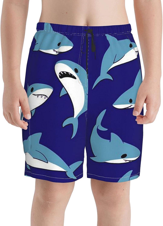 Shark Group Boys famous Swim Trunks 5% OFF Boardshorts Beach Teens Short