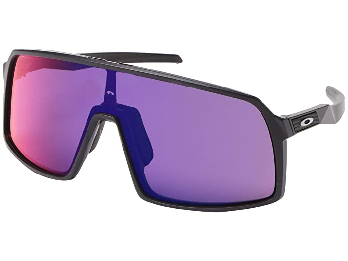 Oakley Sutro (Matte Black w/ Prizm Road) Fashion Sunglasses