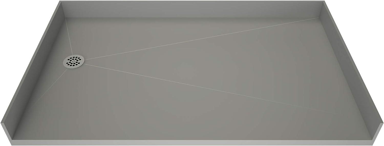 Tile Redi B3360L-BFRDPVZ Shower Pan Left Drai OFFer with Flashing Kit List price