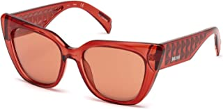 Sunglasses Just Cavalli JC 782 S 66U Shiny Red/Bordeaux Mirror