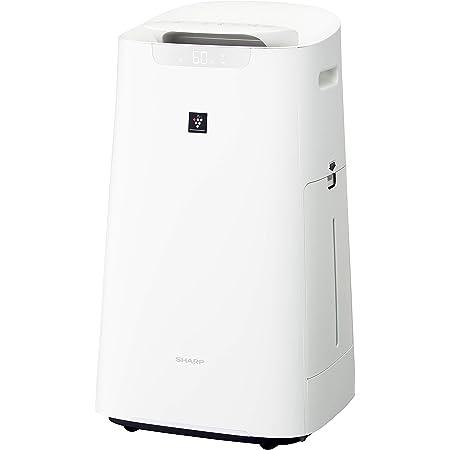 シャープ 加湿 空気清浄機 プラズマクラスター 25000 ハイグレード 21畳 / 空気清浄 34畳 自動掃除 2019年モデル ホワイト KI-LX75-W