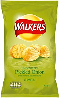 Walkers Crisps - Pickled Onion (6x25g)