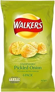 Walkers Crisps - Pickled Onion (6x25g)