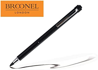 Broonel Midnight Black Rechargeable Fine Point Digital Stylus Compatible with The Razer Blade Stealth 13 2019 13.3 Inch