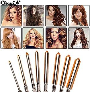 Shoppy Star:9/13/16/19/22/25/31mm Barrel Hair Curling Iron Professional Hair Curler Roller Iron Wand Hair Waver Electric Hair Styler Machine : 9mm Barrel