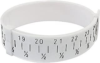 NIUPIKA Plastic Wrist Sizer Bracelet Bangle Gauge Sizer Jewelry Wrist Size Measure Tool
