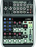 Behringer Q1002USB Xenyx Premium 10-Kanal 2-Bus Mixer mit Mic Preamps/Kompressoren/British EQs und USB/Audio Interface