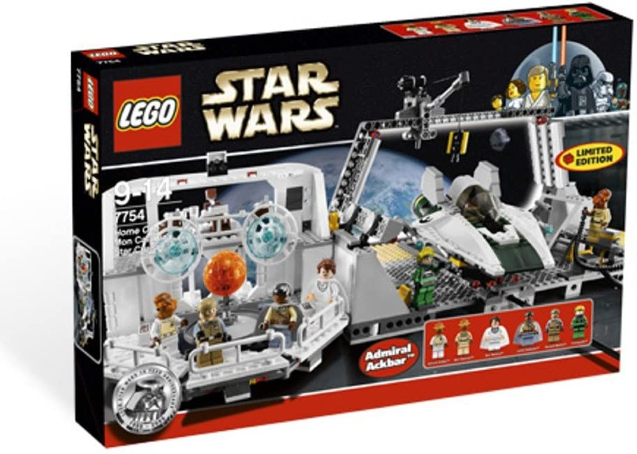 LEGO Genuine Star Wars Exclusive Limited Edition SALENEW very popular! Set Home One #7754 Mon