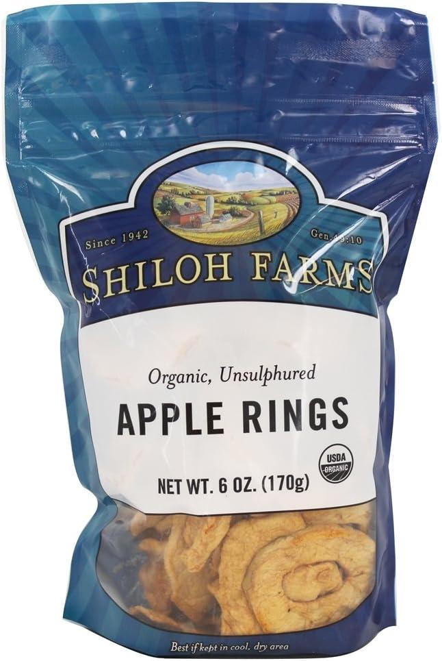 Shiloh 25% OFF Farms Organic Apple 6 - oz New Free Shipping Rings