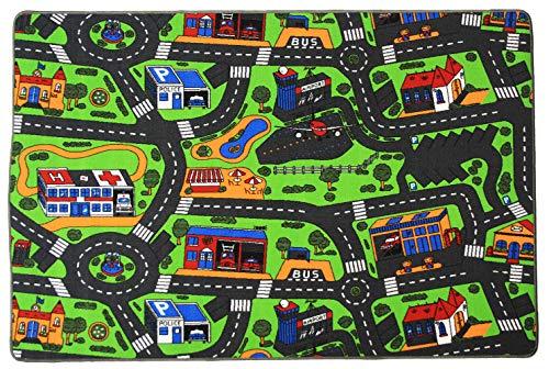 Tapis de jeux - Trafic - Tapis Circuit - 1,40m x 2,00m