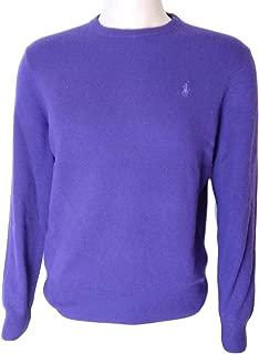 Ralph Lauren Polo Mens Crew-Neck Wool Pony Logo Sweater
