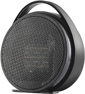 LTJX Calefactor Eléctrico, PTC 800W Calentacdor Eléctrico de Espacio Personal de Aire Caliente con Oscilación Automática Protección contra Sobrecalentamiento para Hogar y Oficina,Negro