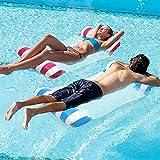 CHAIRLIN 2 colchonetas hinchables para piscina hinchables, 120 x 70 cm