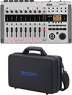 Zoom R24 Recorder:Interface:Controller:Sampler + CBR-16 Carrying Bag For R-24