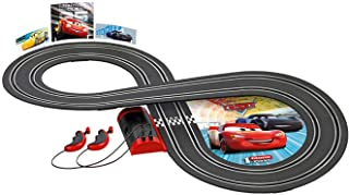 Carrera- Disney-Pixar Cars Juego con Coches, Multicolor,