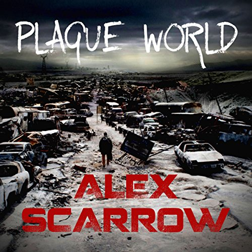 Plague World audiobook cover art