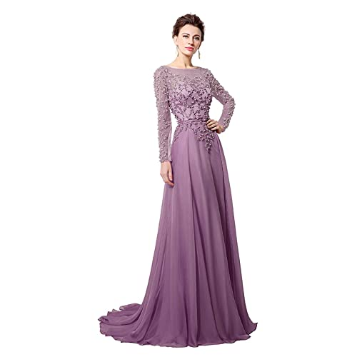 1c90b6acdf Long Sleeve Prom Dresses: Amazon.com