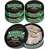 Smokey Mountain Pouches - Wintergreen - 5 Cans - Nicotine-Free and Tobacco-Free