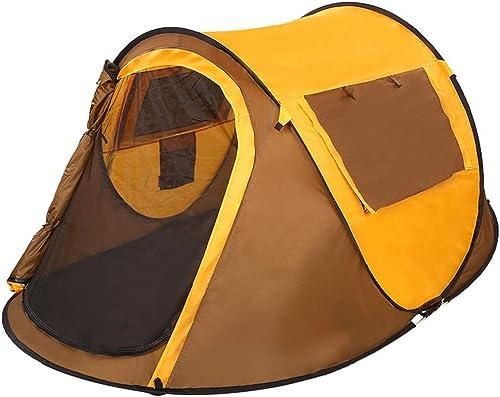 MRY 3-4 personnes tente de vitesse extérieure tente ouverte de bateau tente de camping imperméable à un étage à un étage 247  160  100cm,6306120000,