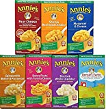 Variety Pack of 7 Annie's Homegrown Macaroni & Cheese