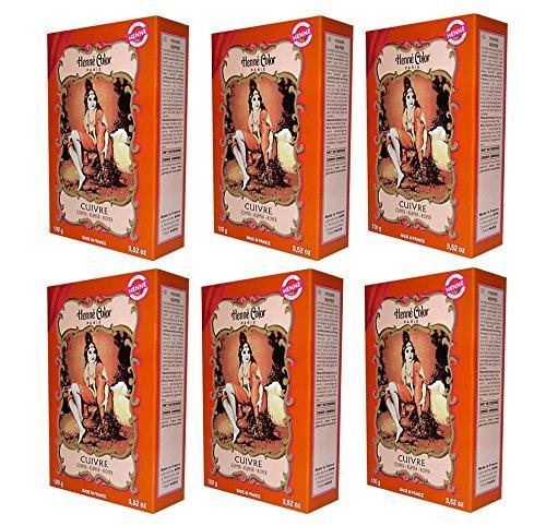 Njd Cosmetics, 28 Rue de la Chapelle, 75018 Paris, Frankreich -  6 X 100g Henna Color