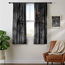 ZhiHdecor Customized Curtains Justice League vs The Avengers y1 Decor aterproof Indo Curtain