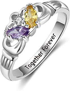 Best mothers rings engraved names Reviews