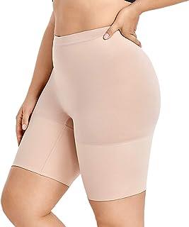 DELIMIRA Donna Guaina Modellante Cosce Pantaloncino Contenitiva Snellente Taglie Forti