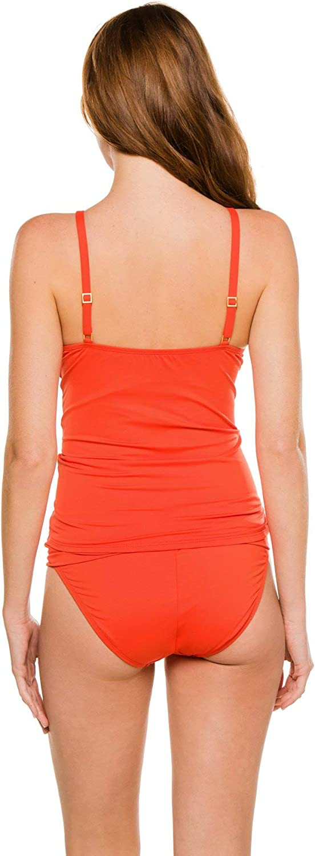 La Blanca Women's Standard Island Goddess Keyhole High Neck Tankini Swimsuit Top