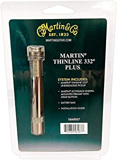 Martin Thinline 332 Plus Undersaddle Accoustic Guitar Pickup System
