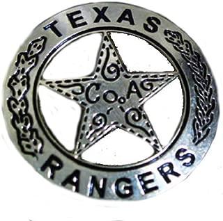 Texas Ranger Jacket Vest hat Pin 2 inch Pin