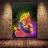Puzzle 1000 piezas Anime japonés Goku pintura estilo nórdico imagen arte pintura moderna puzzle 1000 piezas clementoni Juego de habilidad para toda la familia, colorido juego de ub50x75cm(20x30inch)