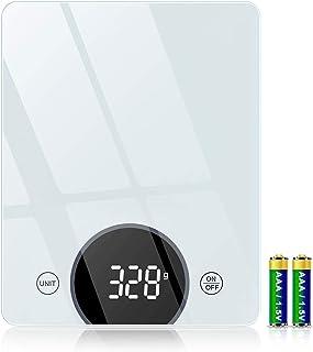 Cocoda Balance de Cuisine, 10kg Balance Cuisine Électronique avec Précision de 1g & 4 Unités de Pesée, Fonction Tare, 21x1...