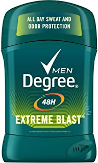 Degree Extreme Blast Original Protection Antiperspirant Stick 1.7 oz (Pack of 6)