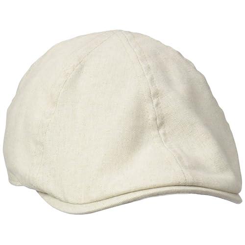 68bfe3e3939 Henschel Men s Linen Blend 6 4 Duckbill Ivy Hat