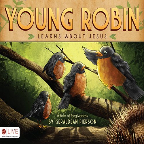 Young Robin Learns about Jesus audiobook cover art