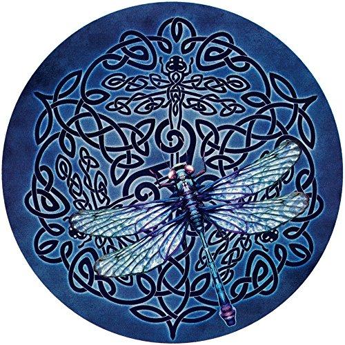 Celtic Dragonfly - Bumper Sticker/Decal (4.5' Circular)